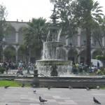 Arequipa, die weisse Stadt Perus am Fusse des Vulkan Misti