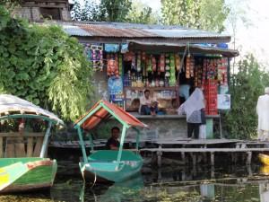 Supermarkt auf dem Dal See