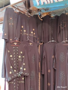 Burkas in Kaschmir