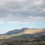 Ronda, eine kleine Stadt in den Bergen von Andalusien