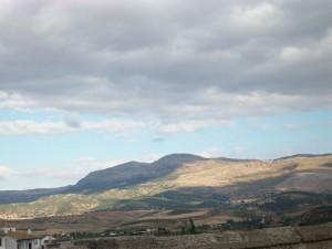 Die Berge von Ronda