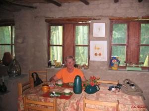 Frühstücksraum in Nasca
