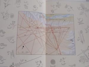 Plan der nasca-Linien aus Nelles-Guide