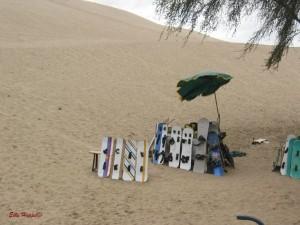 surfen in den Sanddünen