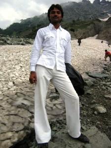 Thajiwas-Gletscher
