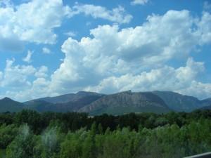 Landschaft bei Organya