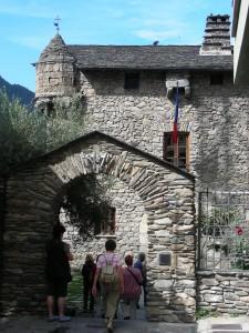 Andorra la Vella - Casa de la Vall 1580 Parlamentssitz