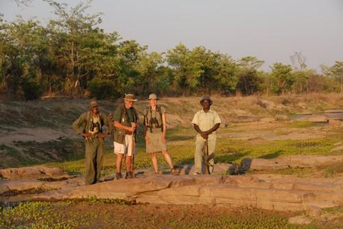 Chizarira Nationalpark - Am Ende eines langen Wandertags