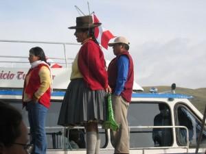 Indigena am Titicacasee