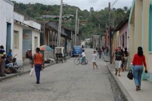 Kuba - Baracoa -Strassenszene