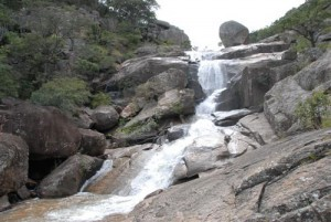 Matobo Nationalpark - Lumene Wasserfall1