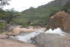 Matobo Nationalpark - Lumene Wasserfall2