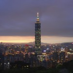 101 Tower in Taipeh