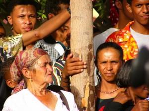 Menschen in Sao Filipe auf Fogo, Kapverden