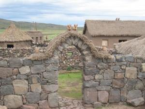 Bauernhof in den Anden