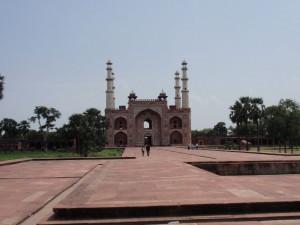 Eingang Akbars Mausoleum