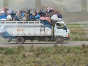 luftige Busfahrt