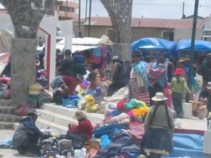 Markt in den Anden