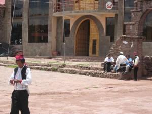 Plaza de Armas in Taquile