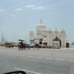 Von Delhi nach Agra mit einem Besuch in Akbars Mausoleum