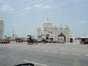 Tempel auf dem Weg nach Agra