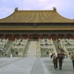 Tempel in der verbotenen Stast