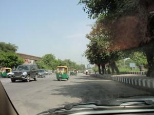 Gasbetriebene Tuktuks