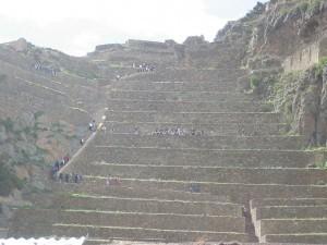 Inkafestung von Ollantaytambo