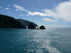 Überfahrt von der Nord- auf die Südinsel