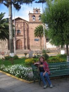 Plaza de Armas in Urubamba