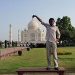 Symbol der Liebe in Agra, das Taj Mahal