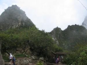 ausgang in Richtung Huayna Picchu