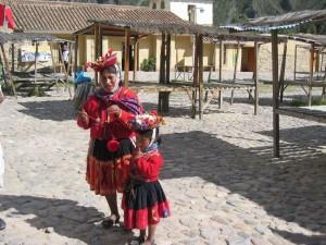 peruanische Trachten