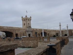 Stadttor von Cadiz