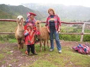 Foto-shooting im Tal der Inka