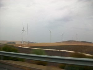 Windpark bei Tarifa