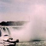 Die Sprühnebel der Niagara-Fälle