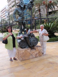 Dali Skulptur in Marbella