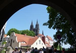 hoch oben: die Albrechtsburg