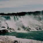 Die Niagara-Fälle in Niagara Falls, Ontario