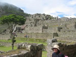 Wohnhäuser der Inka