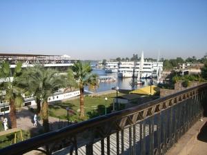 Schiffe auf dem Nil