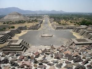 Teotihuacan Mondpyramide