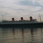 Urlaub an Bord der alten Queen Mary in Long Beach