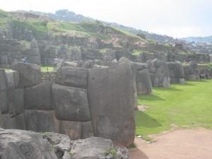 Steinmauern in Sacayhuaman