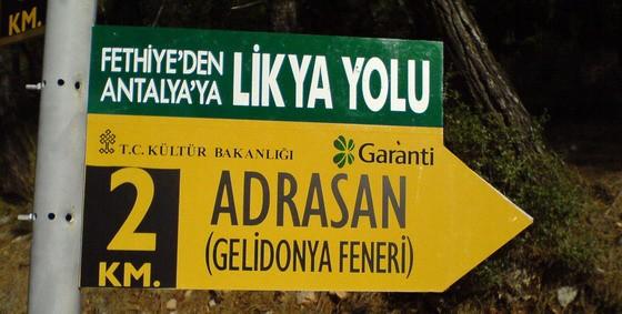 Hier geht es zum Gelidonya Leuchtturm von Adrasan