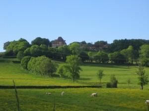 Bilderbuchlandschaft Burgund