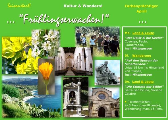Kalabrien - Abwechslungsreiches Kultur- und Wanderprogramm