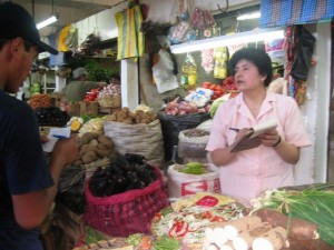 Markthalle von Lima