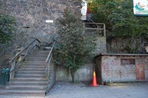 Treppe zum Mosebacke Torg